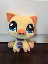 LITTLEST PET SHOP PIG STUFFED ANIMAL NEW WITH CODE 10% GOES TO CHARITY