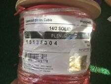 14/2 Fire Alarm Wire Cable  - FPL Plenum Solid Unshielded - 500FT