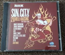 Sin City Classic Rock Cd Styx, Bruce Dickinson, Zodiac Mindwarp, Glenn Hughes