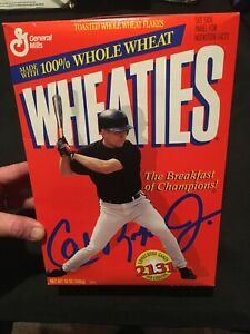 1995 Unopened Cal Ripken Jr. 2131 Consecutive Games Wheaties Box