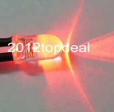 3mm/5mm Red/Green/Blue/RGB 3V 5V 12V DC Round Pre-Wired Water Clear LED