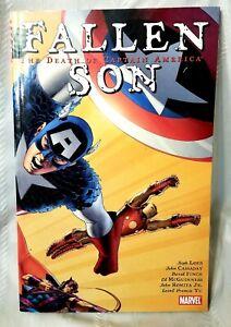 Fallen Son The Death of Captain America TPB Marvel Comics Jeph Loeb Trade Comic
