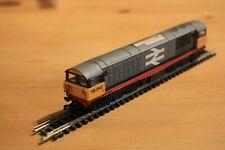 Dapol N Gauge Class 58 locomotive DCC ready ,renumbered to 58042 red stripe grey