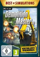 Best of Simulations Demolition Master 3D PC USED