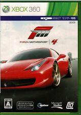 Forza Motorsport 4 Xbox 360 Japan CIB