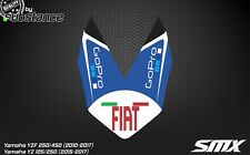 2014 2015 YZ250F YZF450 front fender decal graphic Yamaha YZF 450 YZF 250 2016