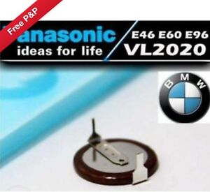 Panasonic VL2020 Rechargeable Battery for BMW Key Fob 3 5 7 series