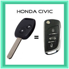 Honda Civic 8th Gen Integrated Remote Flip Key 2009-2011