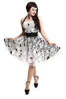 VIXXSIN DARK CROW DRESS WHITE BLACK GOTHIC POIZEN EMO PUNK