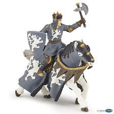 Schwarzer Ritter mit Axt 9 cm Ritter und Burgen Papo 39775