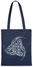 Odhins Horns Ornaments Stofftasche Einkaufstasche Valhalla Odin Viking Vikings