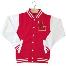 Cappotti e giacche da donna rossa fantasia nessuna fantasia con bottone automatico