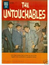 Four Color #1237 1961 The Untouchables photo cover