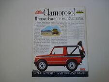 advertising Pubblicità 1988 SUZUKI SAMURAI