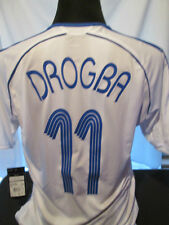 2006-2007 Drogba #11 Chelsea Away Football Shirt large Adults BNWT (32213)