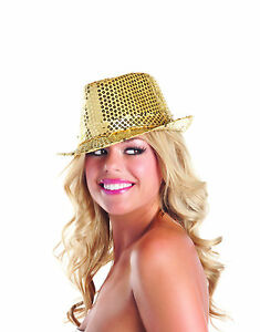 sexy BE WICKED sequins SEQUINED gangster MOBSTER mob BOSS mafia FEDORA hat PIMP