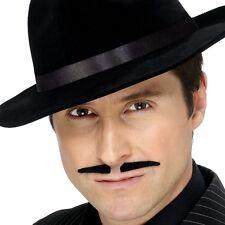 '20 Années 1920 des années 20 Déguisement gangster Tash Noir criminel moustache