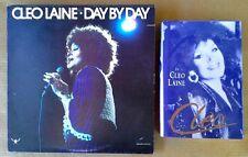 CLEO LAINE - CLEO - HARDBACK BOOK - 1ST EDITION + CLEO LAINE - DAY BY DAY -  LP
