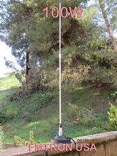 5w,15w,25w,50w,80w,100W Mobile Magnet Sucker Base FM Transmitter Antenna  Adj.