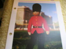 KNITTING PATTERN FOR BRAVE SOLDIER. TOY.