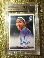 Candace Parker 2008 WNBA Rittenhouse LA Sparks Signed Autograph BGS 10 Rookie