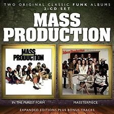 Mass Production - In The Purest Form / Massterpiece [New CD] UK - Import