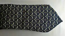 HERMES Paris H and Hearts Necktie Hand Made France 7931 MA 100% Silk