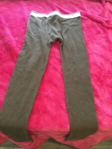 Boys Fruit Of The Loom Thermal Underwear Bottoms Size 8/M