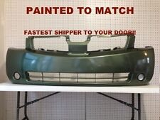 Fits; 2004 2005 2006 Nissan QuestFront Bumper Painted to Match (NI1000218)
