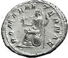 GORDIAN III 238AD Rome Authentic Genuine Ancient Silver Roman Coin ROMA i59065