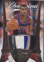 2009-10 Certified Champions Materials Prime #7 Isiah Thomas Patch #/25