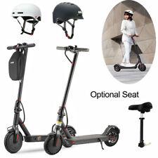 Elektro Scooter Roller Elektroroller Faltbar w/ Sitz Helm Smart LED Fahrradhelm