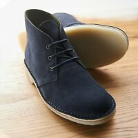 Samuel Windsor Mens Suede Desert Boots Casual Crepe Soled Shoes UK Size 5-14 NEW