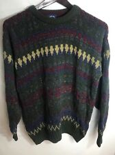 Men's Vintage Gant Salty Dog 100% Cotton Sweater Size Large RARE Made In USA Dad