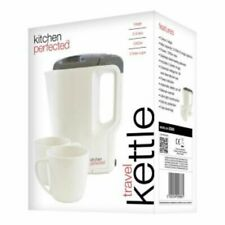 Kitchen Perfected E886 Travel Kettle With Cups Travel Acessory