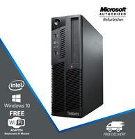 Lenovo M90P SFF Business Desktop PC Quad Core i5 3.1GHz 16GB RAM 480GB Win WiFi