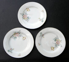 COQUET by NORITAKE FINE CONTEMPORARY CHINA  ~ 3 Bread & Butter Plates ~ 6 3/8""