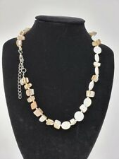 "19"" Shell Like Plastic Necklace -- NEW"