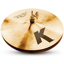 "Zildjian K0941 13"" K Custom Dark Hi Hat Top Drumset Bronze Cymbal Brand - Used"