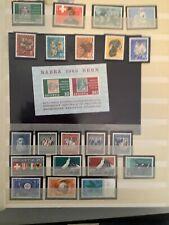 Schweiz postfrisch 1965
