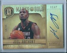 2012-13 Panini Gold Standard Marks of Gold Joel Anthony Miami Heat Auto /99