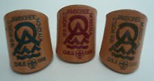 1999 World Scout Jamboree OFFICIAL Neckerchief (N/C) Woggle / Scarf Slide SET
