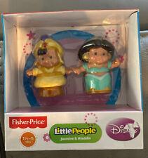 Fisher Price Little People Disney Princess Jasmine Aladdin 2 Figure Pack