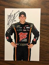 Joey Coulter Signed 4x6 Photo NASCAR autograph COA