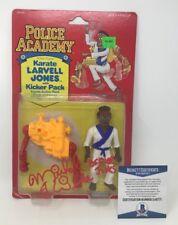 Rare! MICHAEL WINSLOW Signed Police Academy Karate FIGURE LARVELL JONES Beckett