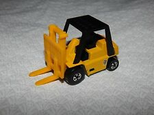 Vintage 1979 Hot Wheels Fork Lift - Original Yellow with Blackwalls - NICE!