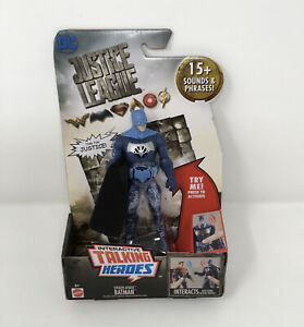 Justice League Batman Interactive Talking Heros Steal Attack 6 Inches Tall