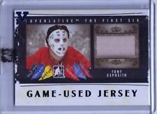 2014-15 ITG Superlative Vault Tony Esposito The First Six Jersey SP (1/1)