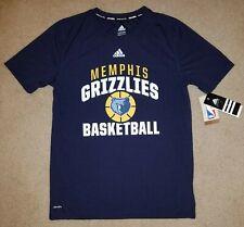 Climalite Adidas Nba Memphis Grizzlies Basketball tshirt t shirt youth 14/16 Nwt