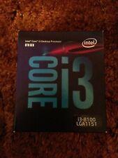 Intel Core i3-8100 (8th Gen) 3.6GHz Desktop Processor - CM8068403377308